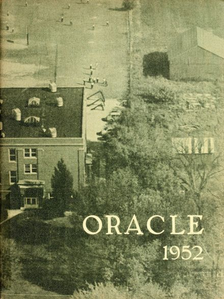 1952 Ossian High School Yearbook Cover