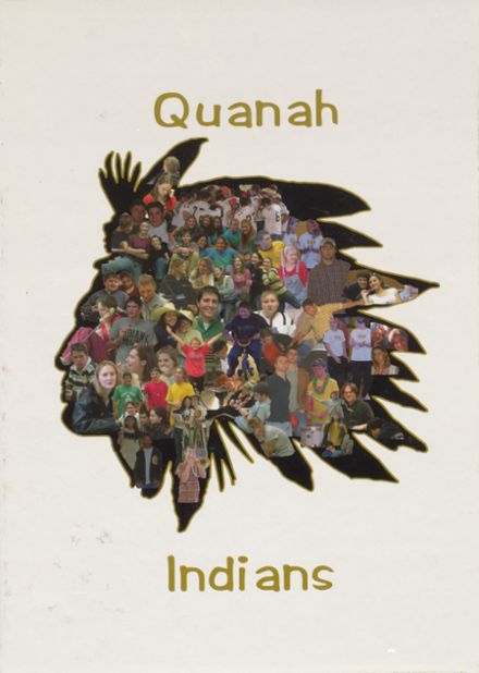 2003 Quanah High School Yearbook Cover