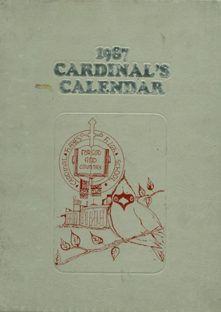 1987 Cardinal Hayes High School Yearbook Cover