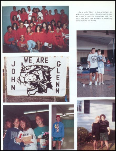 1991 John Glenn High School Yearbook Page 7