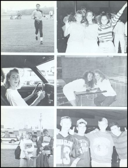 1991 John Glenn High School Yearbook Page 8