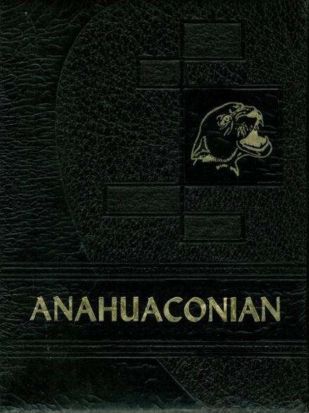 1960 Anahuac High School Yearbook Cover
