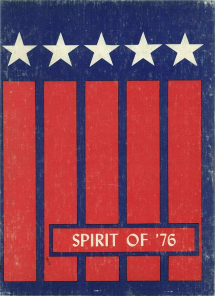1976 West Chicago Community High School Yearbook Cover