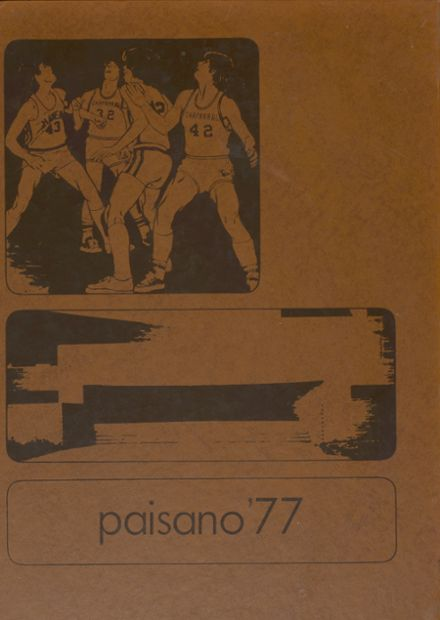 1977 Chaparral High School Yearbook Cover