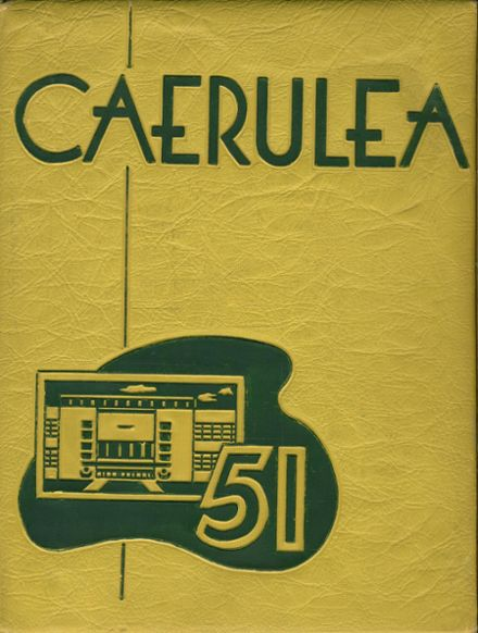 1951 Long Beach Polytechnic High School Yearbook Cover
