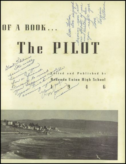 1946 Redondo Union High School Yearbook Page 7