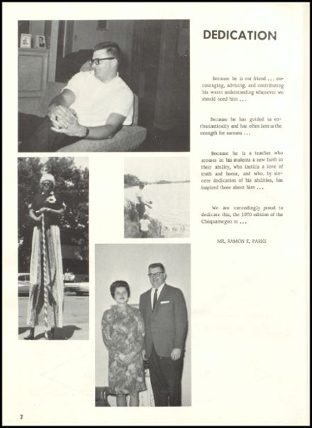 1970 Rib Lake High School Yearbook Page 6