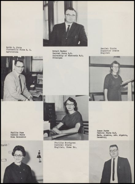 1963 Rib Lake High School Yearbook Page 6