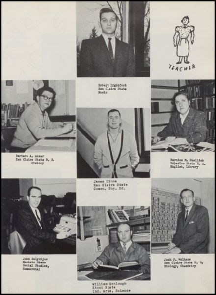 1963 Rib Lake High School Yearbook Page 7