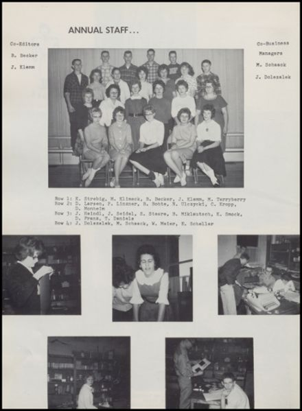 1963 Rib Lake High School Yearbook Page 8