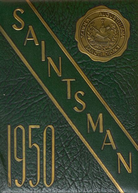 1950 St. Augustine High School Yearbook Page 1