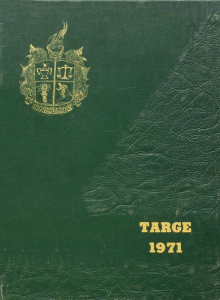 1971 Incline High School Yearbook Cover
