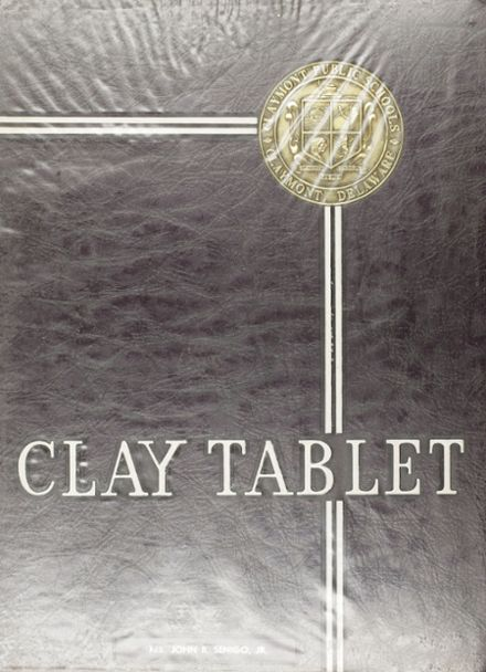 1965 Claymont High School Yearbook Cover