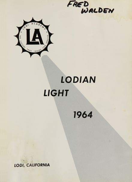 1964 Lodi Academy Yearbook Page 5