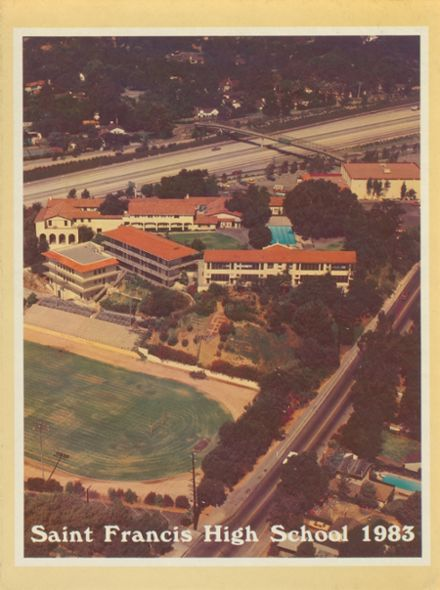 1983 St. Francis High School Yearbook Cover