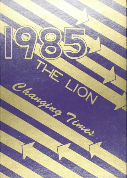 1985 Ozona High School Yearbook Cover