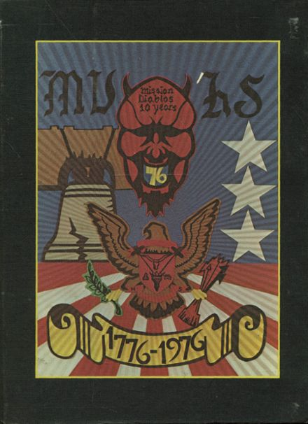 1976 Mission Viejo High School Yearbook Cover