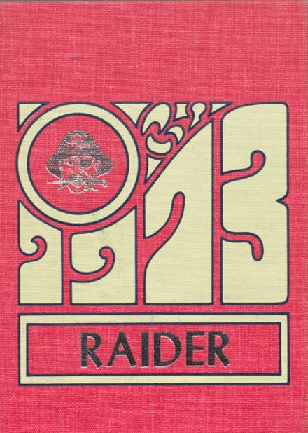 1973 Mead High School Yearbook Cover