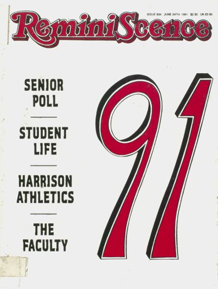 1991 Harrison High School Yearbook Cover