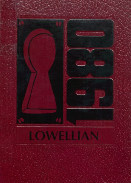 1980 Lowell High School Yearbook Cover