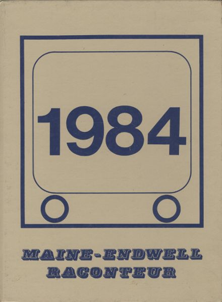 1984 Maine-Endwell High School Yearbook Cover