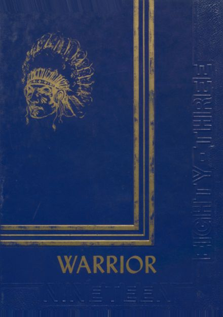 1983 Indianola High School Yearbook Cover