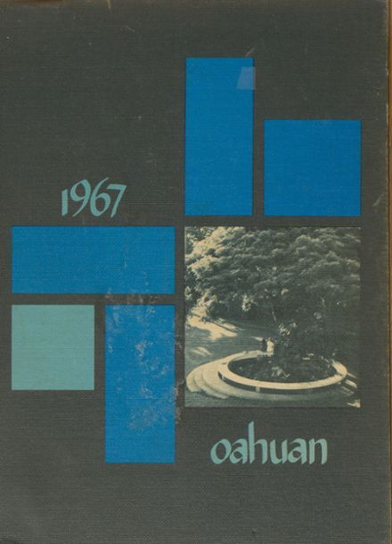 1967 Punahou School Yearbook Page 1