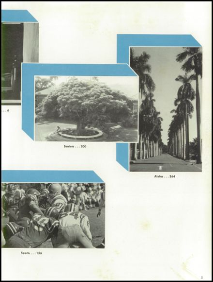 1967 Punahou School Yearbook Page 9
