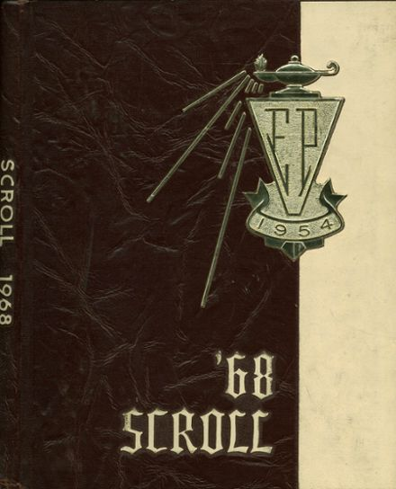 1968 Elmwood Park High School Yearbook Cover