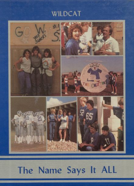 1985 Welch High School Yearbook Cover