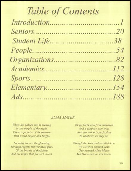 1997 Dadeville High School Yearbook Page 3