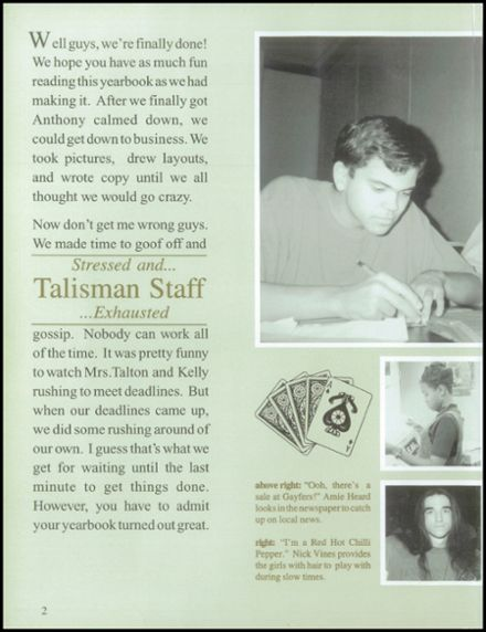 1997 Dadeville High School Yearbook Page 6