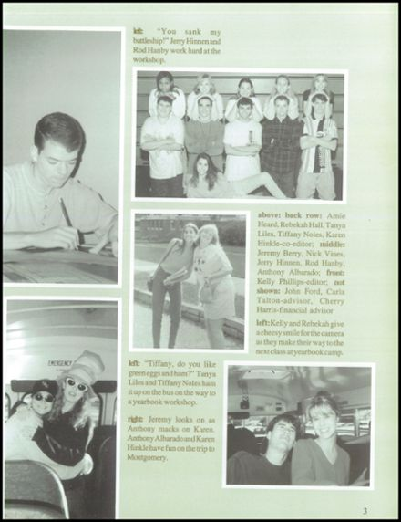1997 Dadeville High School Yearbook Page 7