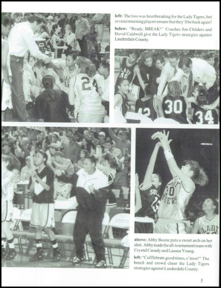 1997 Dadeville High School Yearbook Page 9