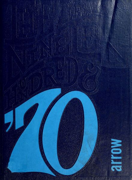 1970 Woodlan High School Yearbook Cover