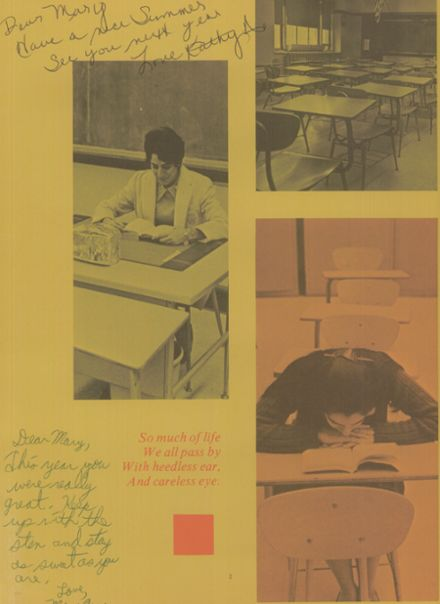 1971 Bishop McDonnell Memorial High School Yearbook Page 6