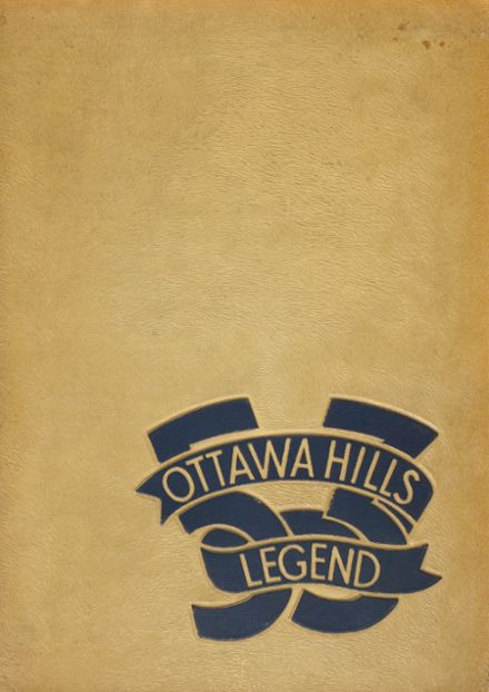 1953 Ottawa Hills High School Yearbook Cover