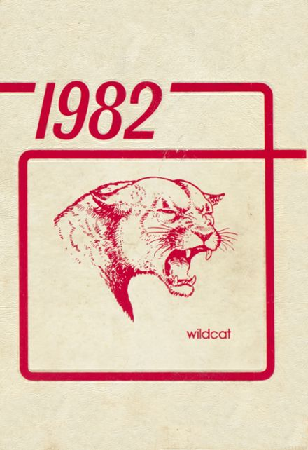 1982 Carlisle High School Yearbook Cover