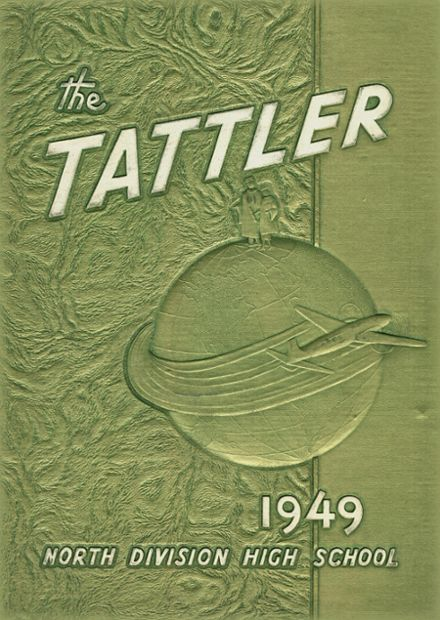 1949 North Division High School Yearbook Cover