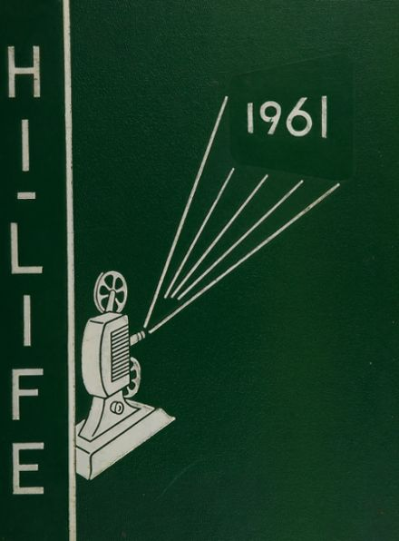 1961 Howitt High School Yearbook Cover