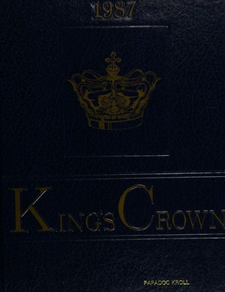 1987 Rufus King High School Yearbook Cover
