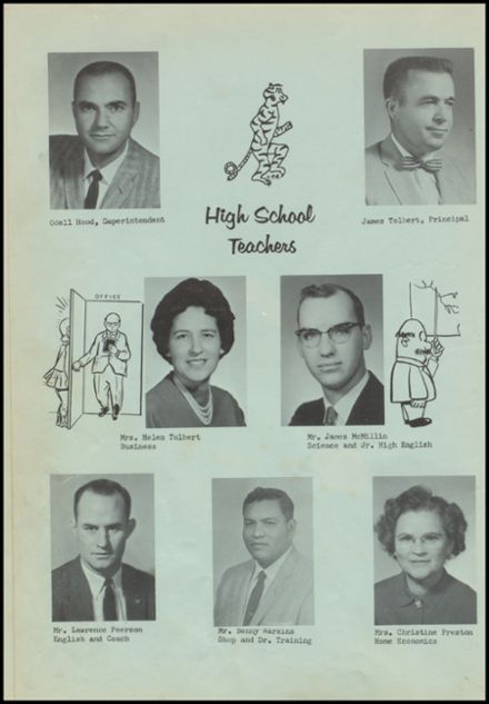 1962 Bokoshe High School Yearbook Page 8