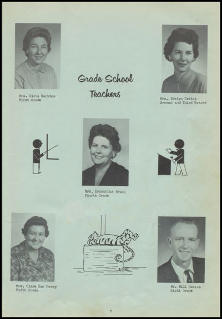 1962 Bokoshe High School Yearbook Page 9