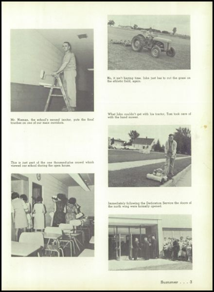 1966 Fox Valley Lutheran High School Yearbook Page 7