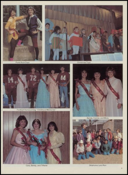 1983 Mountain View-Gotebo High School Yearbook Page 7