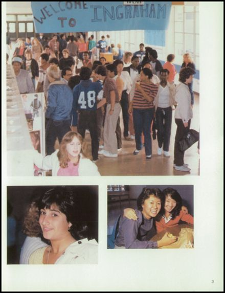 1983 Ingraham High School Yearbook Page 7