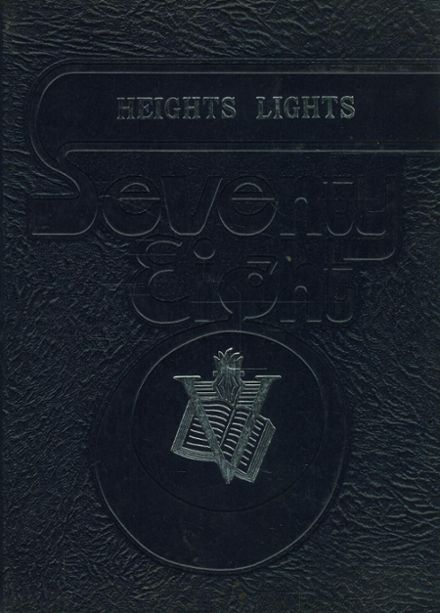 1978 DeSales Heights Academy Yearbook Cover