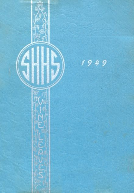 1949 Sacred Heart High School Yearbook Cover