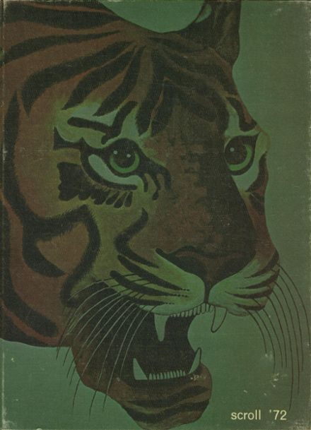1972 Howland High School Yearbook Cover