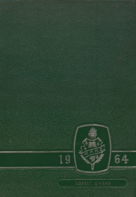 1964 Mt. Pleasant High School Yearbook Cover